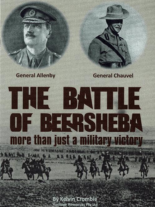 The Battle for Beersheba - booklet