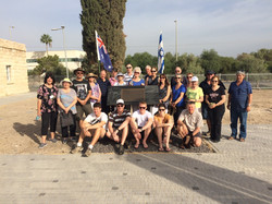 Anzac memorial in the Galilee