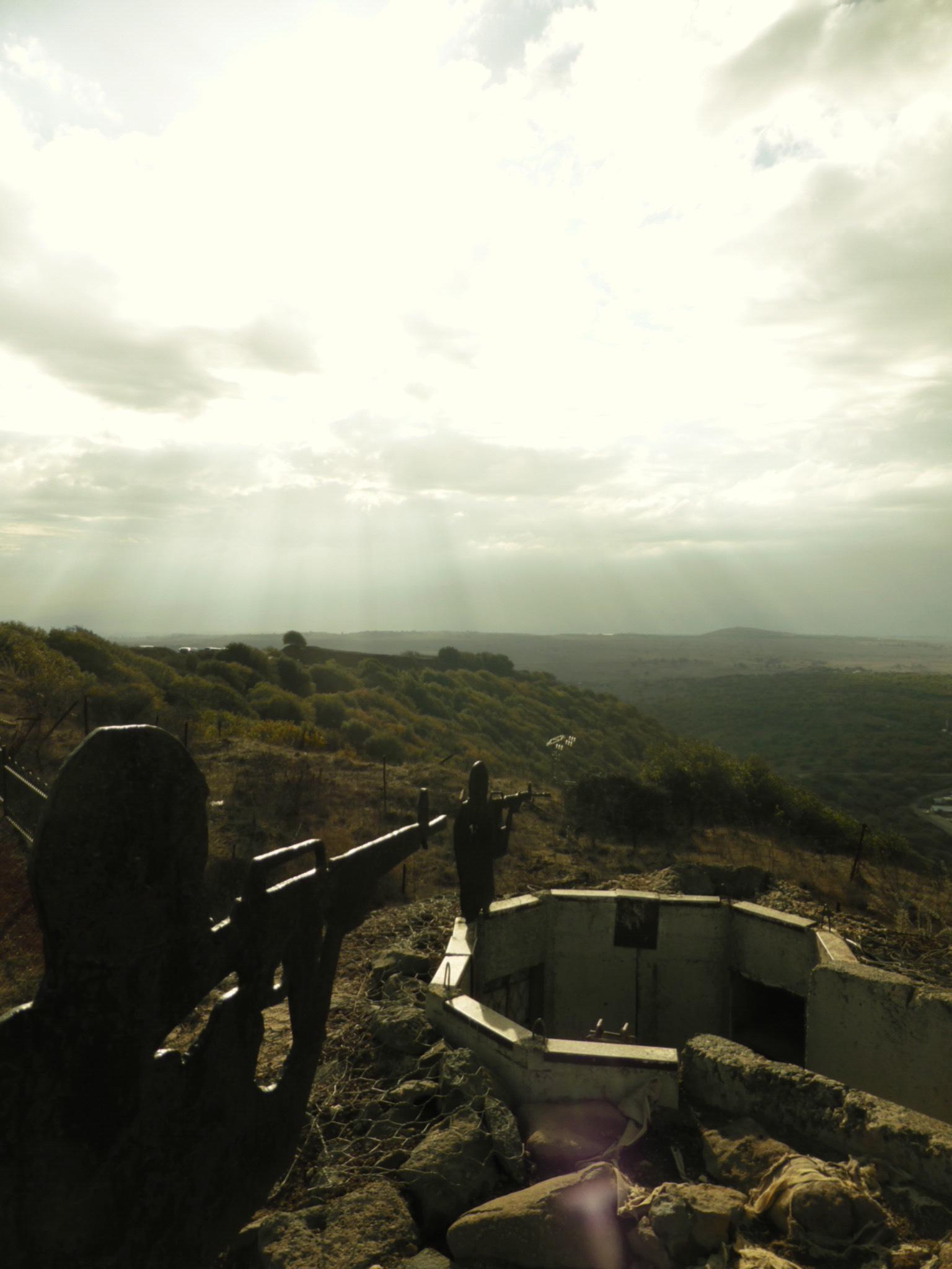 On Mount Hermon