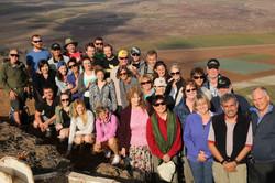 The Group onto Mount Hermon