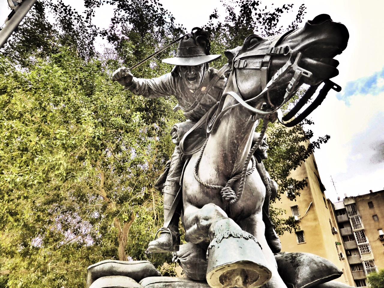 Lighthorse Monument, Beersheba