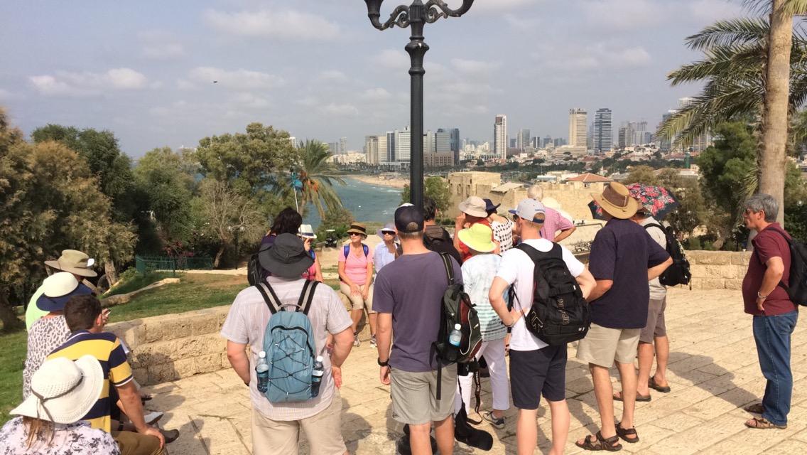 In Jaffa overlooking Tel Aviv
