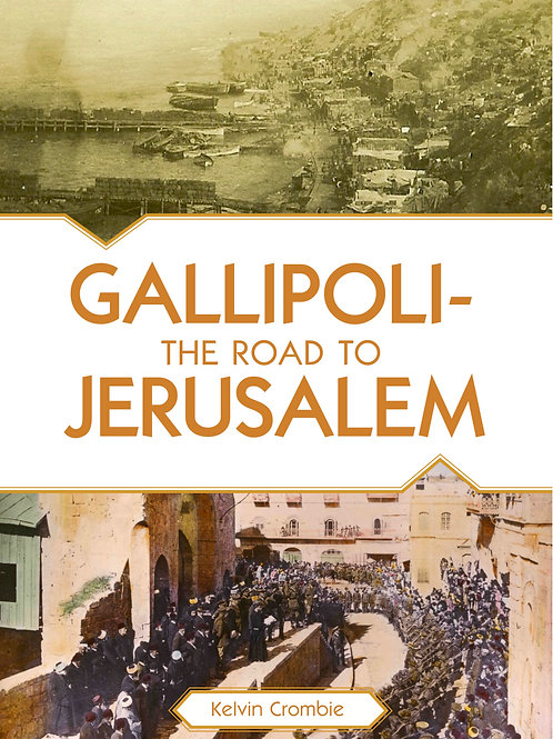 Gallipoli: The Road to Jerusalem - DVD