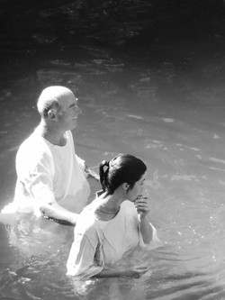 Baptism in the Jordan River