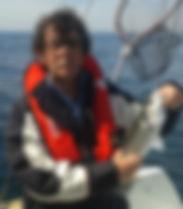 bar en mer d'Iroise, beau poisson