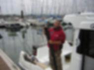 vincent ottmann guide de pêche, guide de peche brest, peche finistere , brest, finistere, bretagne