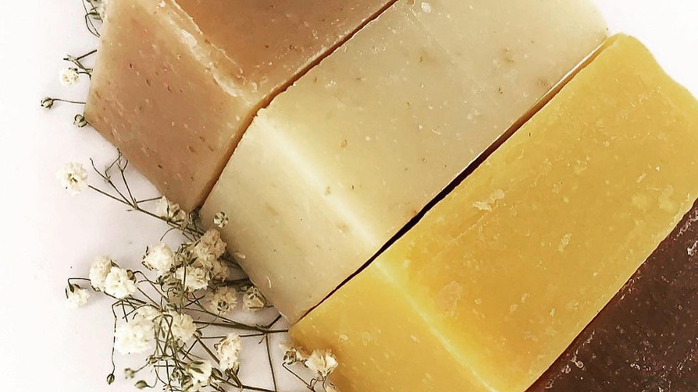 Handcrafted Herbal Soaps