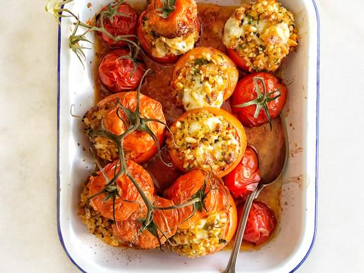 Bulgur & Herb Mahshi Tomatoes
