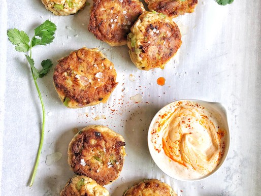 Fish Cakes: A recipe made from leftovers