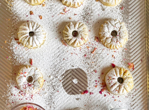 Ka'ek and Ma'moul Easter Cookies