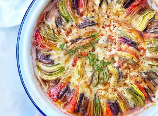 Tahini Vegetable Ratatouille