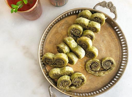 Za'atar Savory Cookies