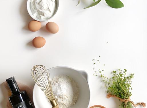 Lemon Loaf with Thyme, Yogurt & Olive Oil