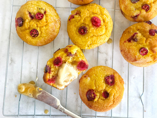 Pumpkin & Cranberry Moist Cornbread