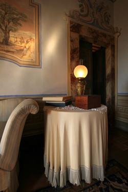 il salone degli affreschi (particolare).