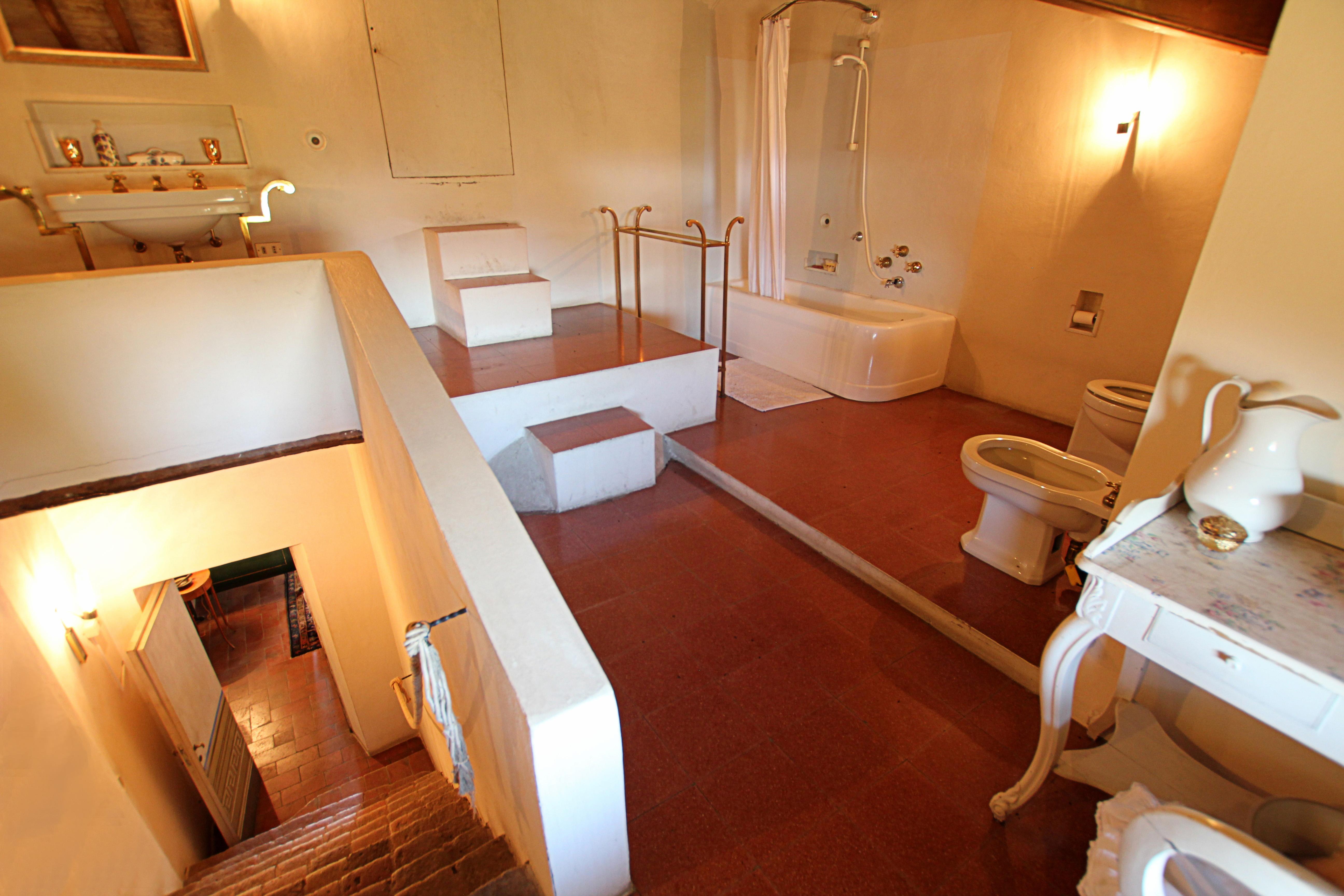 il bagno...in mansarda