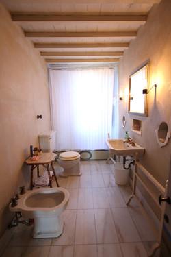 il bagno della camera 'verde'