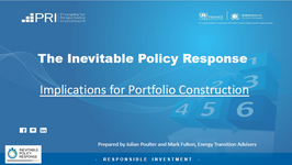 Inevitable Policy Response - Implications for Portfolio Construction