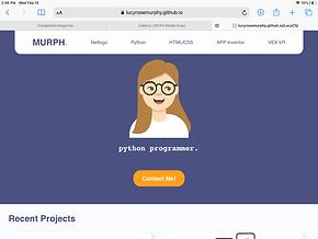 Portfolio Website (html, css, JavaScript)