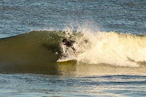 Michael Nicholas Surfing