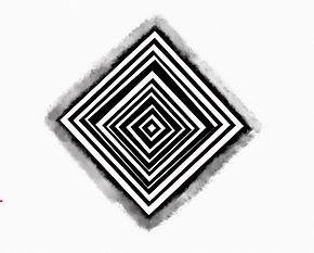 Black White Square