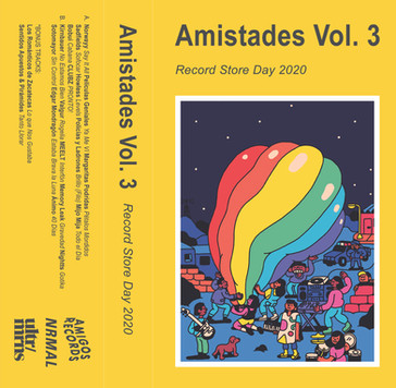 Amistades Vol. 3 Cover