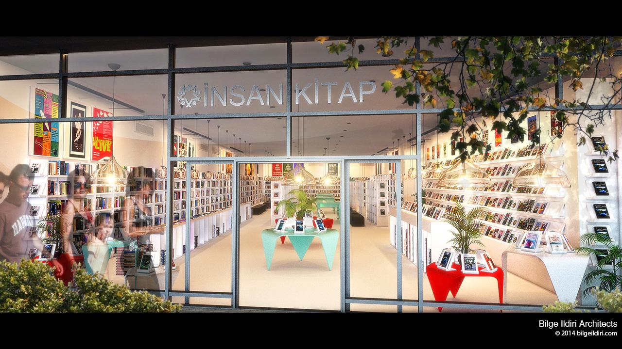 Insan Kitap Bookstore 1