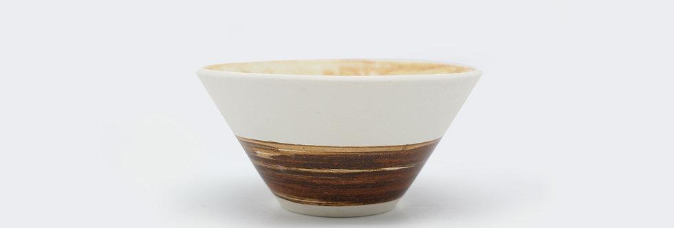 筆觸白磁碗 Artistic Porcelain Bowl