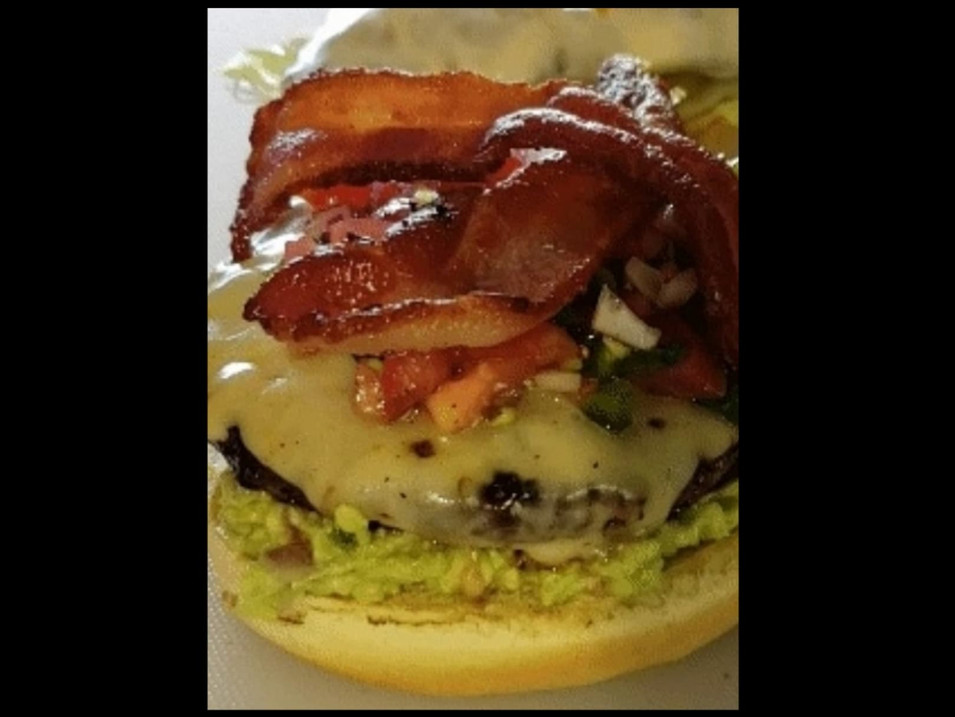 Holy Guacamole Burger!