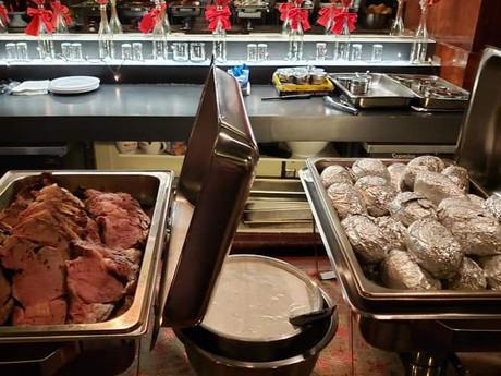 Prime Rib & Baked Potatoes