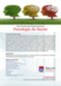 Folder para impressão do curso Psicologia da Saúde - Faculdades Educatie