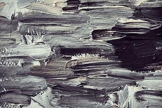 ブラック油絵