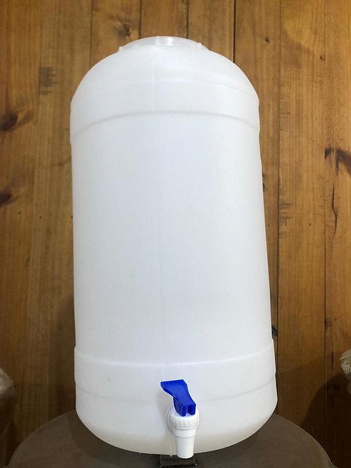 Fermentador Plastico 27 Lts. Con canilla