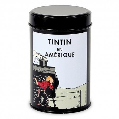 Café moulu Moulinsart Tintin en Amérique colorisé, Locomotive (250g)