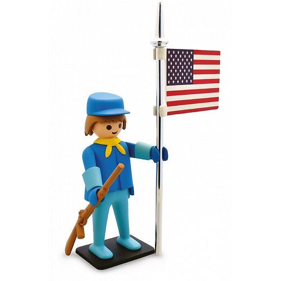Playmobil Géant de collection : LE CAVALIER AMERICAIN