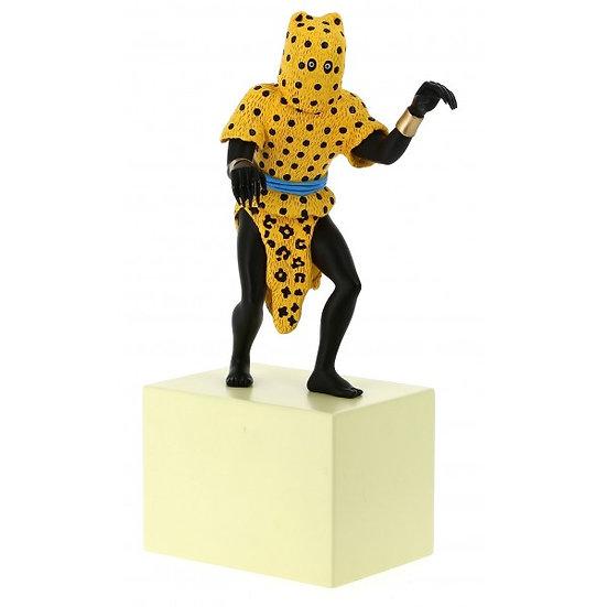 Statuette l'homme-léopard Le Musée Imaginaire de Tintin