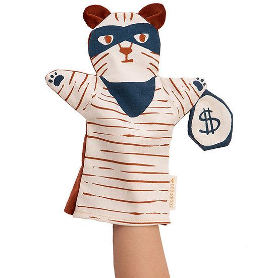 Marionnette chat bandit