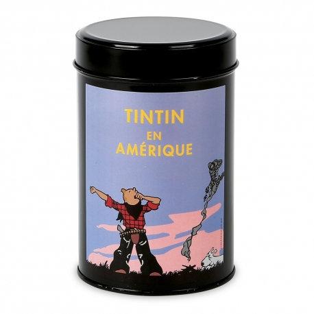 Café moulu Moulinsart Tintin en Amérique colorisé, Le réveil (250g)