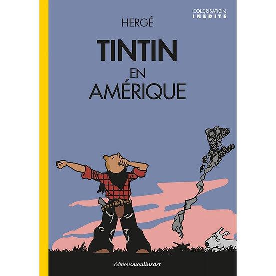 Tintin en Amérique colorisé  Tintin Réveil