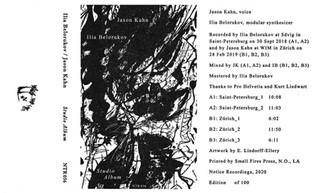 Ilia Belorukov/Jason Kahn - Studio Album