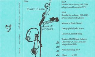Ryoko Akama/Anne-F Jacques -  Evaporation