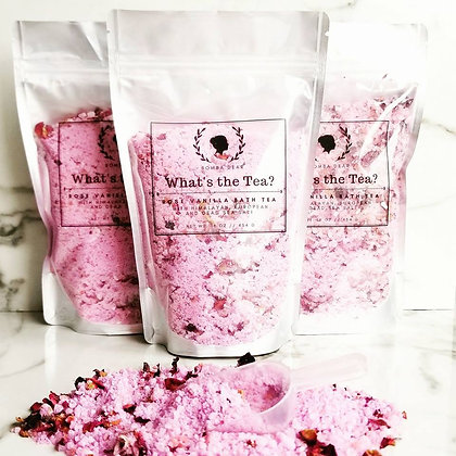 Bath Tea - Rose Vanilla