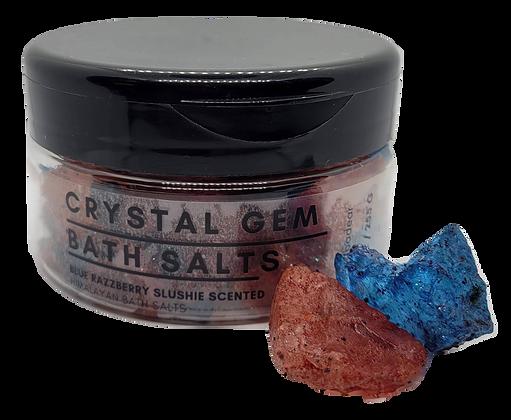 Crystal Gem Bath Salts - Blue Raspberry Slush