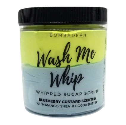 Blueberry Custard - Wash Me Whip