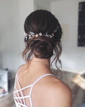 Hair updo - Alisha Hopps