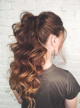 Hair up - Alisha Hopps