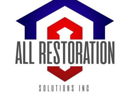 All Restoration Solutions Inc. follow us on: Facebook & Instagram @AllRestorationSolutionsInc
