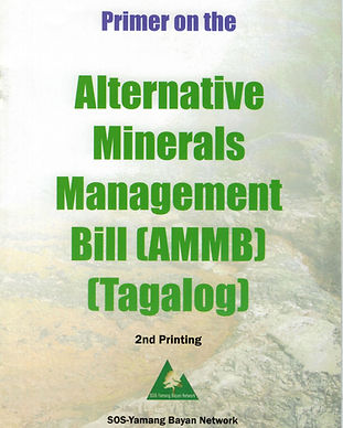 PRIMER PRIMER ON ALTERNATIVE MINERALS MA