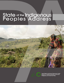 State of Indigenous Peoples Address 2015