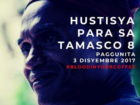Statement of Task Force TAMASCO on the 2nd Anniversary of the TAMASCO 8 massacre in South Cotabato